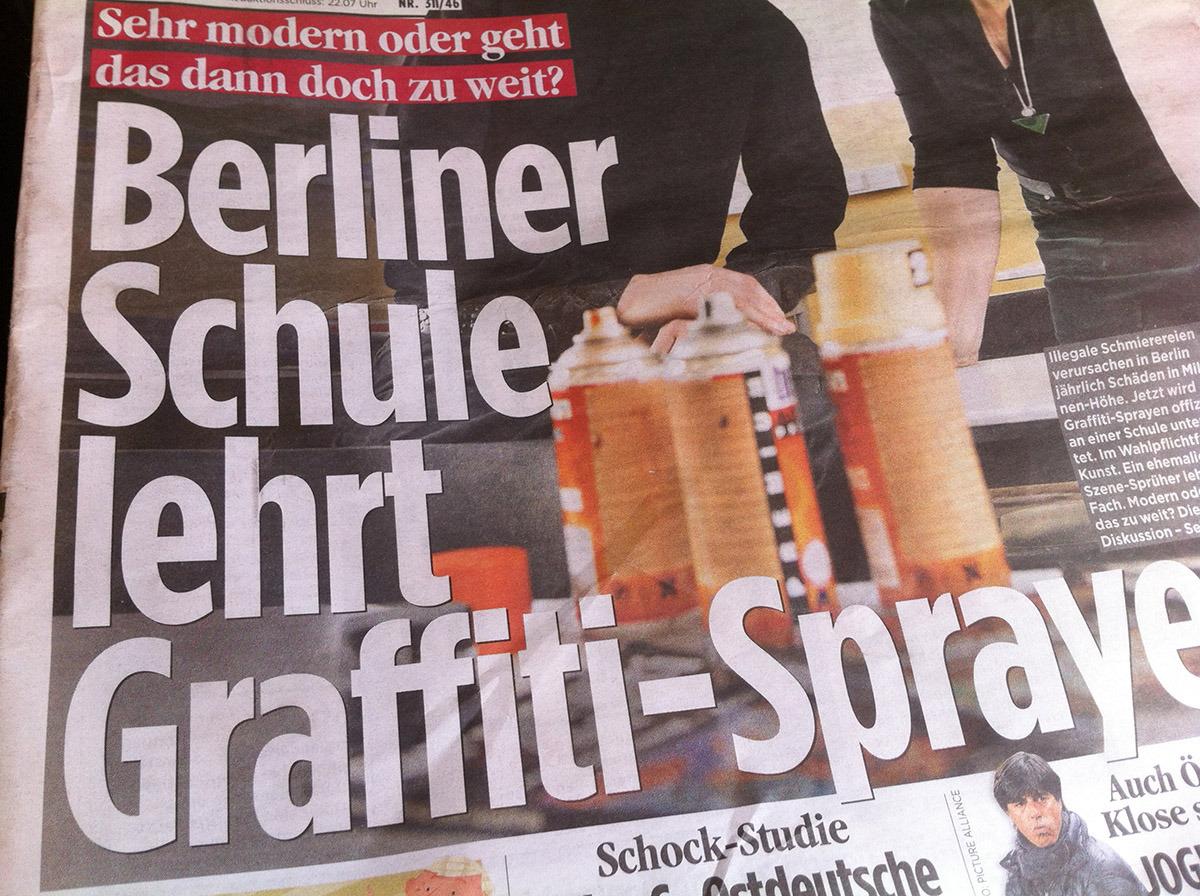 berliner schule graffiti